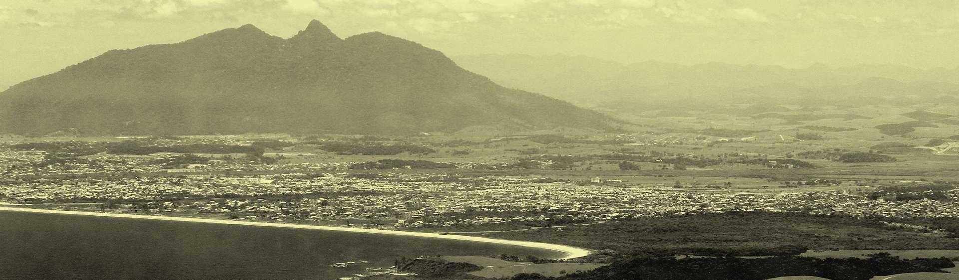 Foto aérea de Rio das Ostras