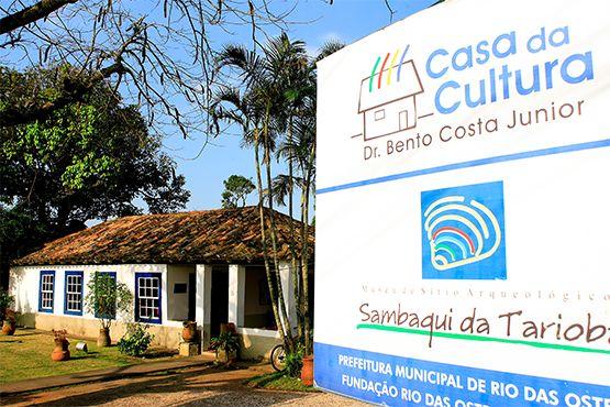 Foto da Casa de Cultura Dr. Bento Costa Júnior