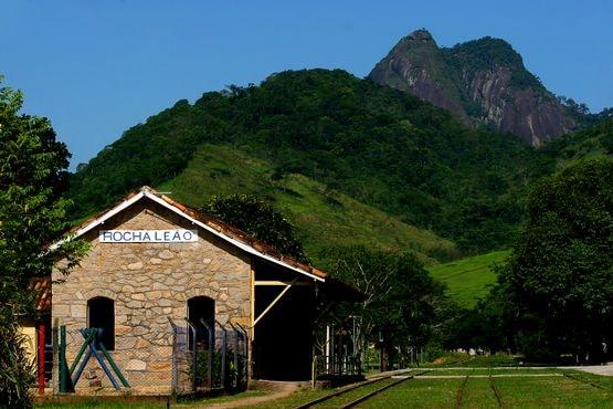 Foto do Centro Ferroviário de Cultura