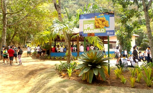 Foto da sede do Espaço Socioambiental Ipê Amarelo