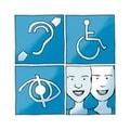 Logo da Cartilha da de Acessibilidade na Web - W3C