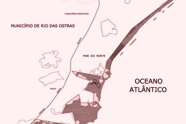 Mapa do zoneamento da ARIE de Iatapebussus