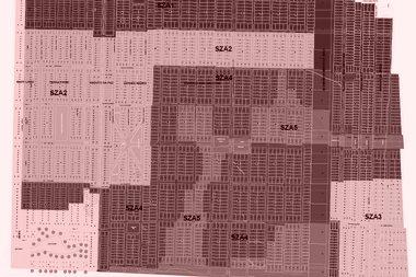 Mapa do zoneamento da ZEIMA 1