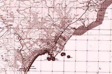 Mapa estatítico de Rio das Ostras