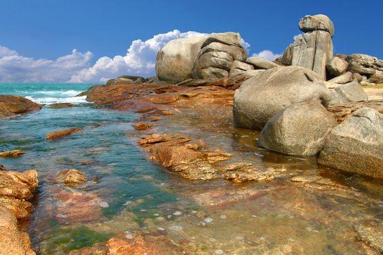 Foto do Monumento Natural dos Costões Rochosos