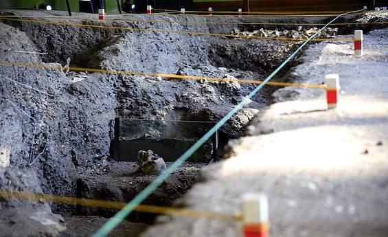 Foto do Museu de Sítio Arqueológico Sambaqui da Tarioba