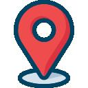 SIC Físico: Ícone ilustrando um marcador de mapa (local)
