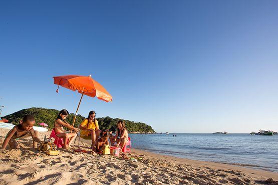 Foto da Praia da Boca da Barra