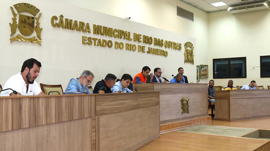 Autoridades participaram da Audiência Pública