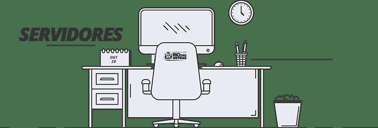 Portal do Servidor - Imagem de uma mesa de escritório