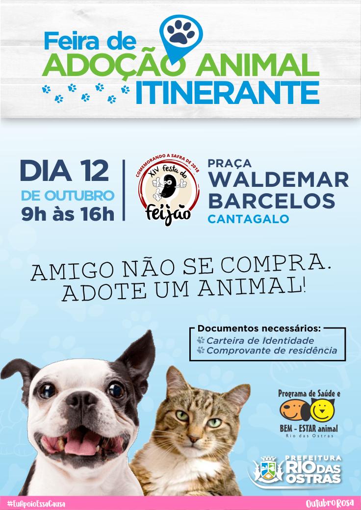 Feira de Adoção Animal Itinerante