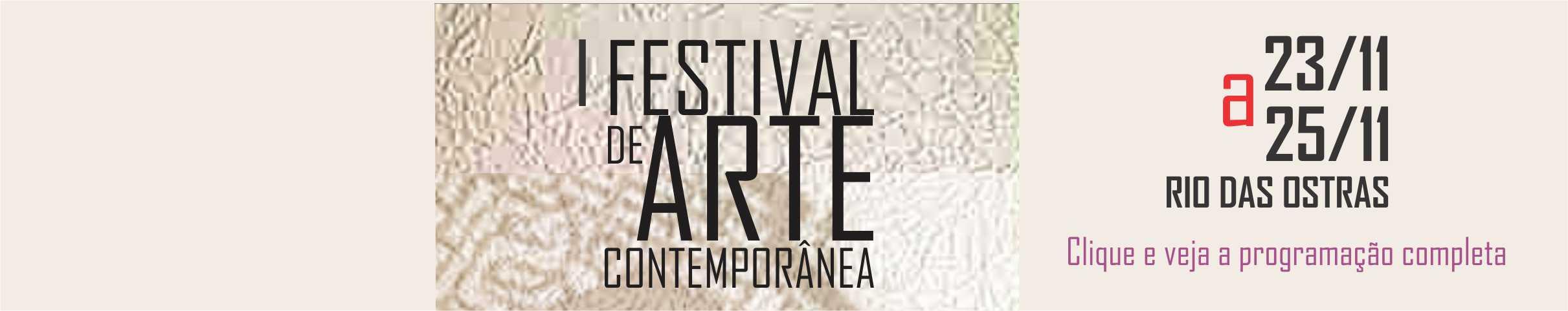 I Festival de Arte Contemporânea