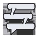 e-SIC - Pedidos de Informação: Círculo vermelho com um icone ilustrando um notebook