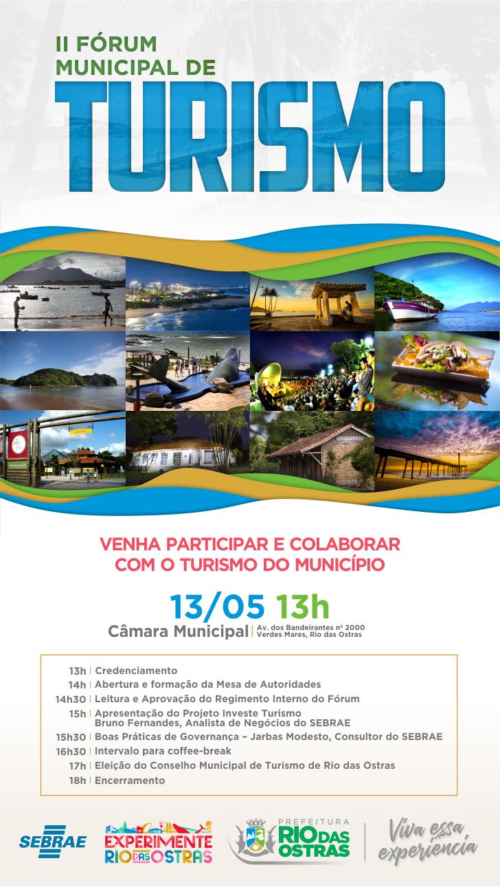 II Fórum Municipal de Turismo