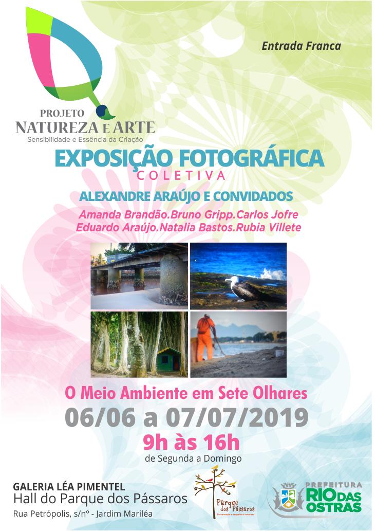Exposição Fotográfica O Meio Ambiente em Sete Olhares