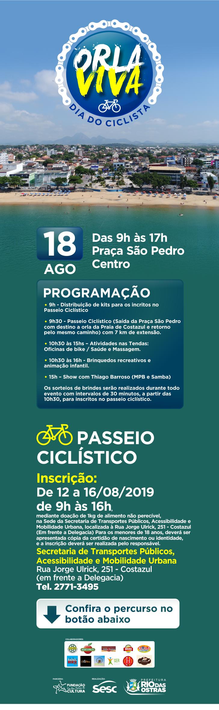 Orla Viva - Dia do Ciclista