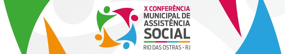 X Conferência Municipal de Assistência social (REMOVER DIA 15/09/2019)