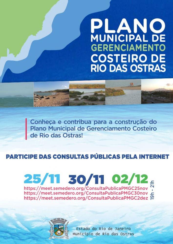 Plano Municipal de Gerenciamento Costeiro de Rio das Ostras